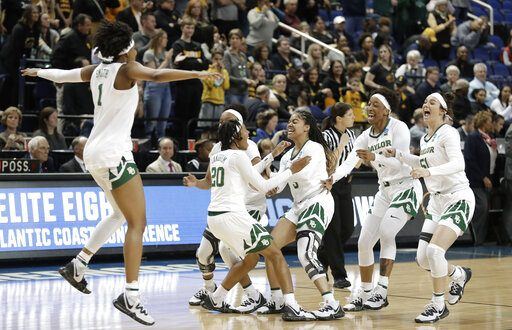 c0cd708c Baylor Lady Bears earn third national title after nearly blowing 17 ...