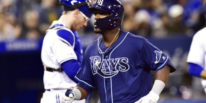 brand new 51576 f13a0 Tampa Bay Rays Put Away Blue Jays, Win Series - ESPN 98.1 FM ...