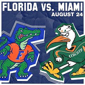 Florida vs. Miami - August 24