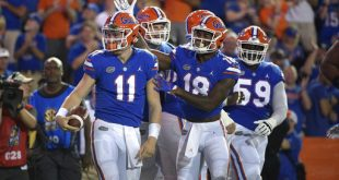 Trask, no. 11, will look to etch his name into the list of Gator Greats
