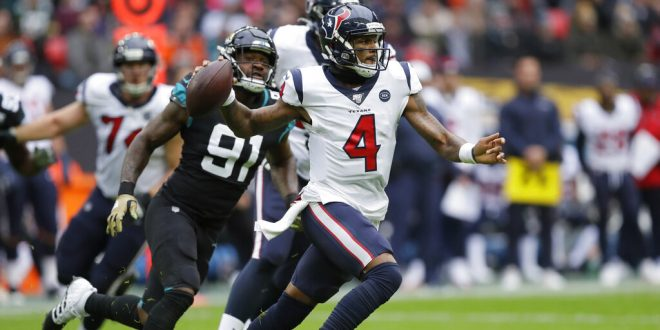 Watson Texans Run Away From London With Win Over Jaguars