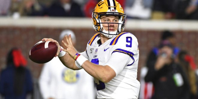 College Football Playoff, LSU, Joe Burrow