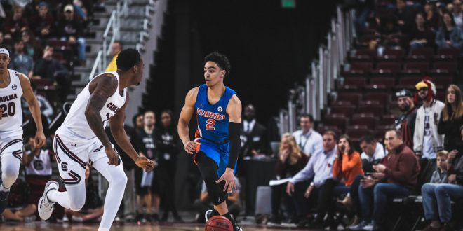 Gators Men's Basketball Andrew Nembhard v. South Carolina