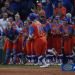 Gators team cheers on Lindaman