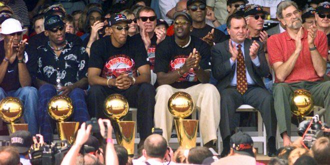 NBA Players React to Michael Jordan and