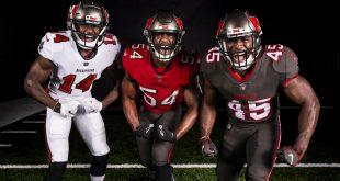 Tampa Bay Buccaneers new uniforms
