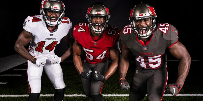 Tampa Bay Buccaneers new uniforms