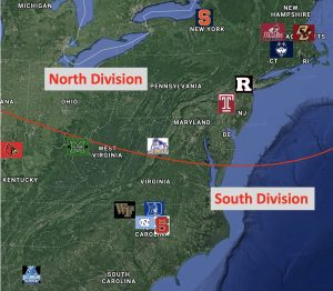 Appalachian Conference Mapped