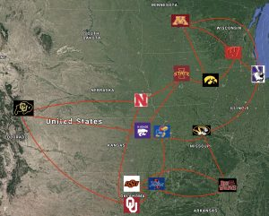 Realignment Heartland Conference Mapped