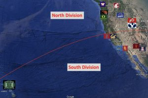 Realignment PAC 14 Mapped