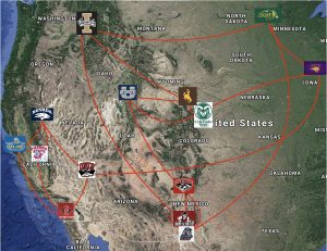 Realignment Western Conference Permanent Rivals Mapped