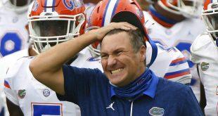 Florida head coach upset