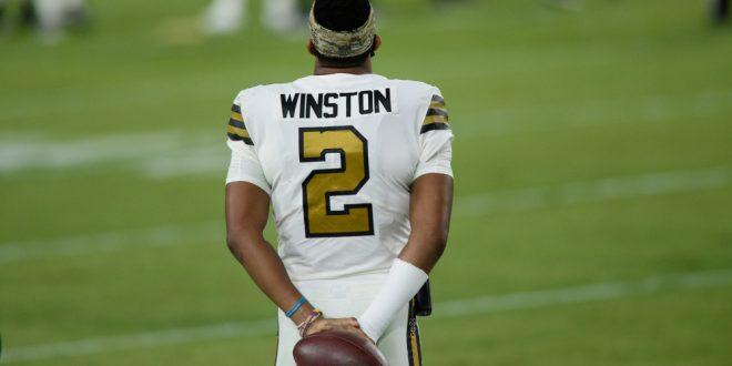 photo from https://saintswire.usatoday.com/2020/11/08/saints-vs-bucs-tom-brady-jameis-winston-eats-a-w/