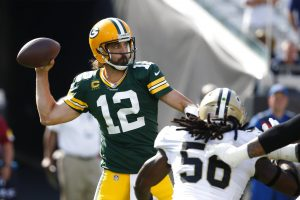 Saints take on Packers