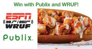Win with Publix and WRUF