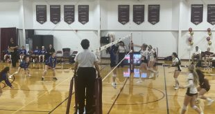 Oak Hall volleyball plays St. Francis
